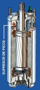 Motor con Supresor de Picos