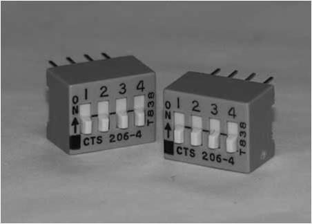 Interruptores DIP